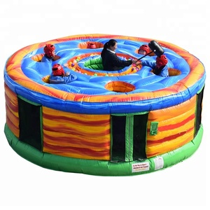 Funny kids adult interactive game inflatable whack a mole game for sale; Inflatable whack