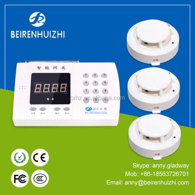 Factory Price Gsm Home Alarm System, House Alarms, Wireless Fire Alarm  System
