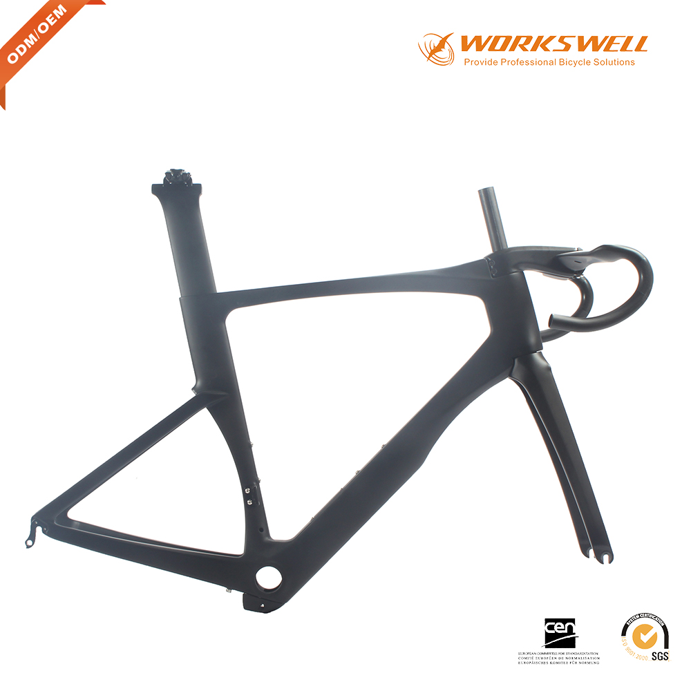 China bicycle supplier T700 aero bicycle carbon road frame race frame carbon road bikeon selling