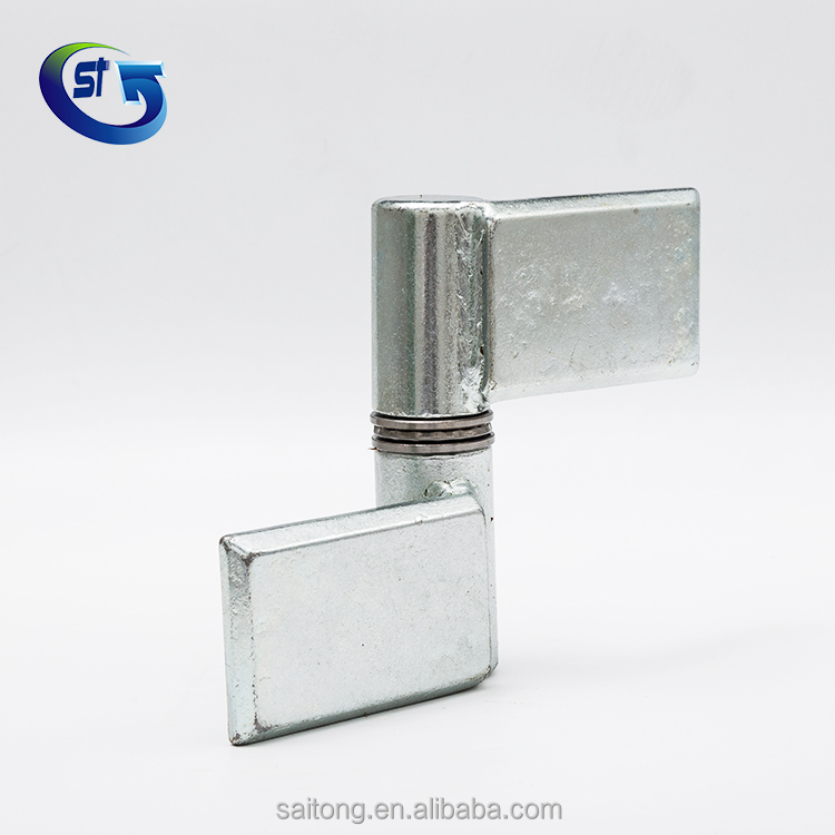 Heavy duty welding flag pole hinge