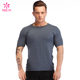ODM High Quality Active Wear T Shirts Dry Fit Mesh Back Mens Yoga Shirt