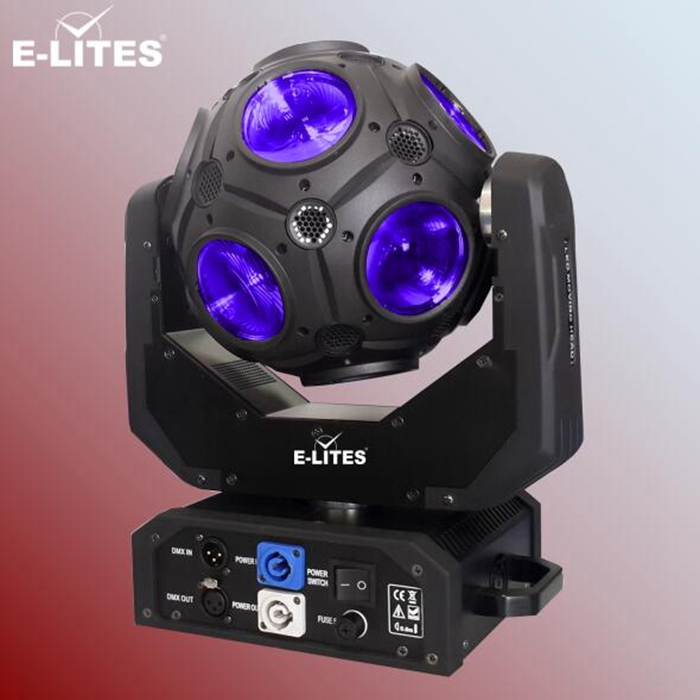 new led disco beam moving football light,12*20W dmx512 stage light