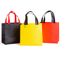 Promotional shopping non woven tote bags