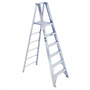 Aluminum Step Ladder Lightweight Multi Purpose Portable Folding Home Ladder 5 Step