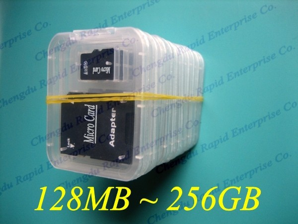 16gb 32GB 64gb 128gb class 10 micr memory tf cards low price high quality / with SD Adapter wholesale market