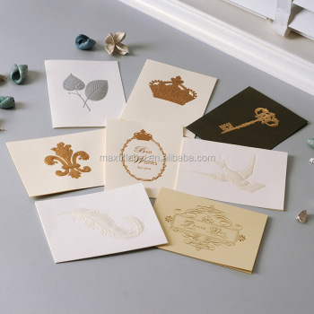 Wholesale Fancy Thank You Card Custom Happy Birthday Handmade Greeting Card