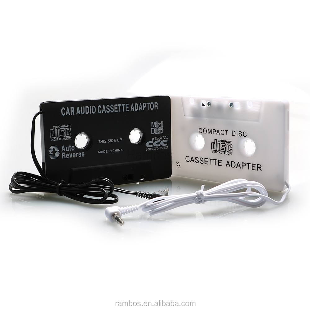 Universal Auto Car Cassette Tape <strong>Adapter</strong> for iPod Nano Touch/CD/DVD/MD/MP3/MP4 Player