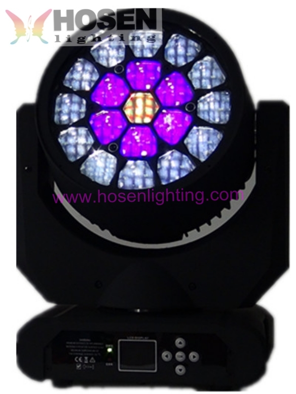 Stage Effect Lighting 4 In 1 Color Changing Led Bee Eyes Moving ...
