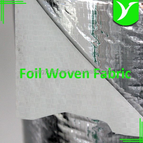 Reflective Vapor Attic Radiant Barrier Fabric Insulation Metal Building Insulation for Roof, Wall, Floor in Construction