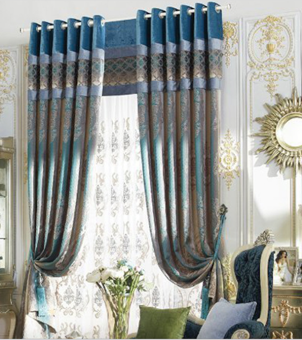 indian embroidered curtain fabric,luxury hotel curtains,velvet blackout curtains