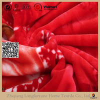 Manufactory walmart Muslin swaddle alibaba china home textile super soft 85% acrylic & 15% polyester blanket