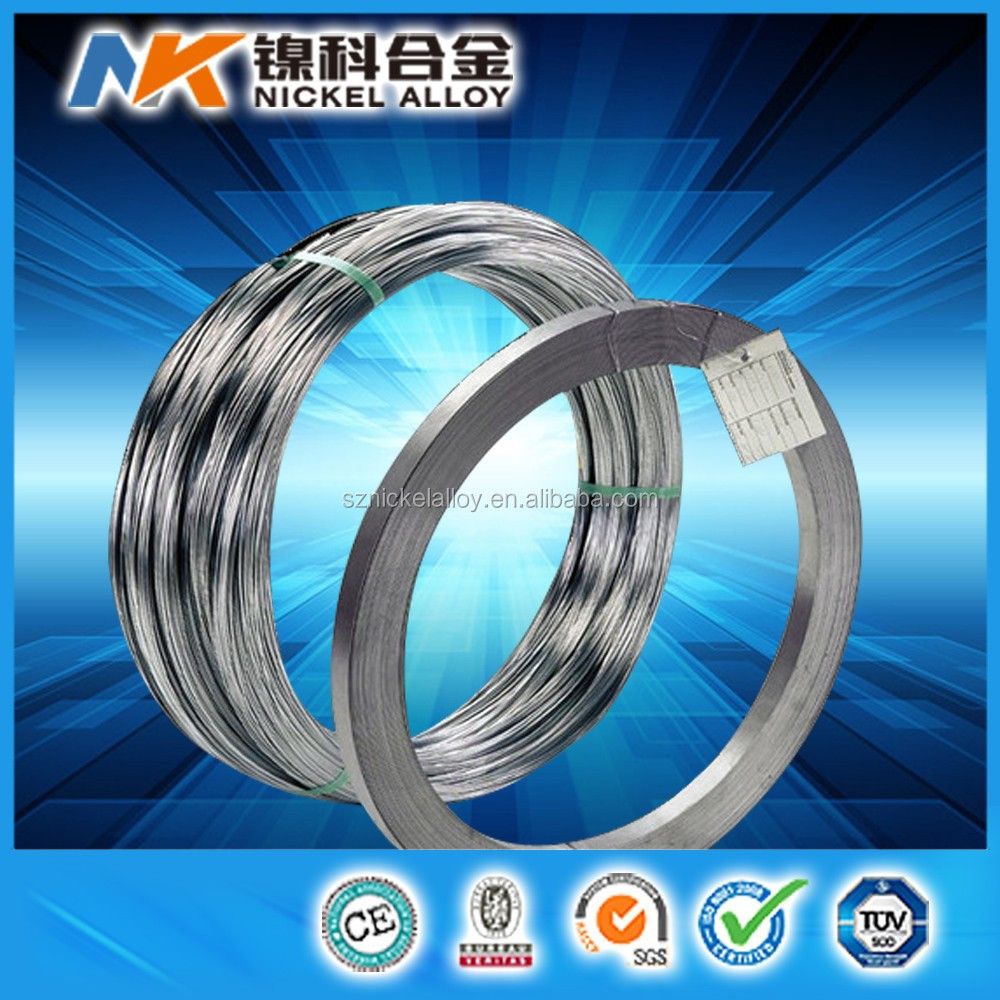 Memory shaped nitinol flat wire with loops