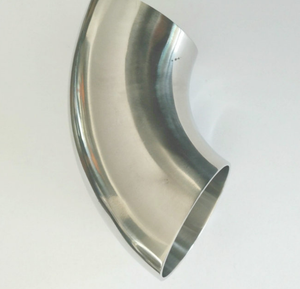Stainless steel 90 degree pipe and pipe fittings butt welded elbow