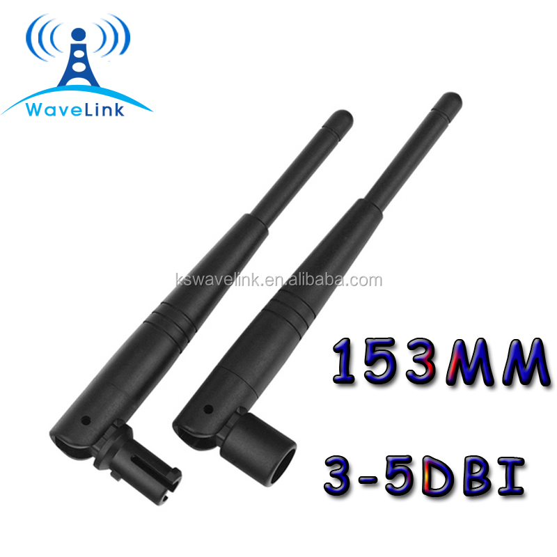 Factory Price Rubber Duck WIFI 2.4G Antenna IPEX UFL Connector With 1.13 Cable 120MM