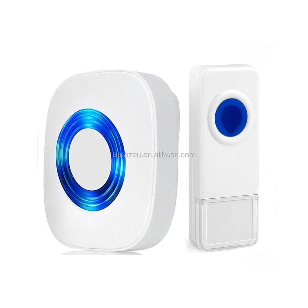Decorative Wireless Doorbell Remote Electric Control 1 Receiver Door Bell