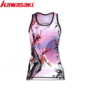 5a14f34851c9d Custom Design Sublimation Printed Quick Dry Fitness Women Tank Tops Sports  Gym Clothes Running Singlet
