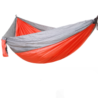Camping Hammock Portable Indoor Outdoor Tree 2 Hanging Straps, Lightweight Nylon Parachute Hammocks for Backpack