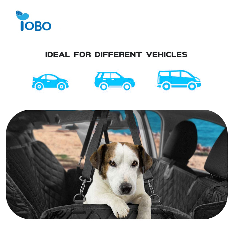 2019 Best sale factory supply Beige pet protector car seat cover