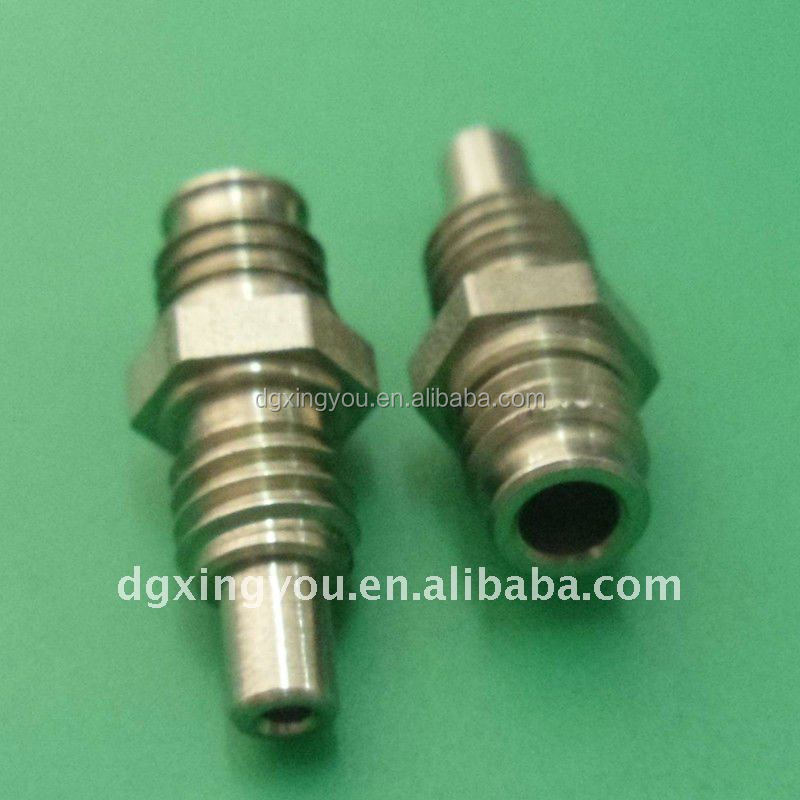 CNC MachiningMultipole Square brass shaft