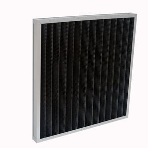 Active Carbon Pre Panel Air Filter Remove Odor For HVAC System