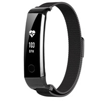 LED stainless steel jogging men and women health sport smart watch
