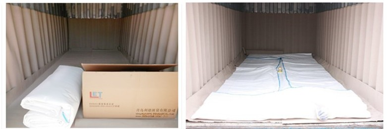 24000L logistics flexitank container price for bulk liquid transport