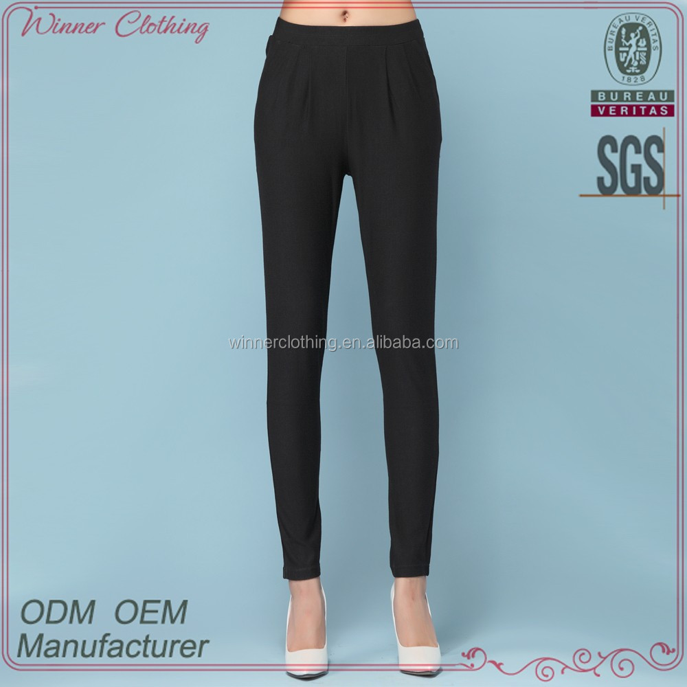 Sexy Lady's Trendy Style Denim Black Girls Tight Pants