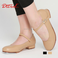 D004727 Dttrol cow leather tap dance shoes with heel