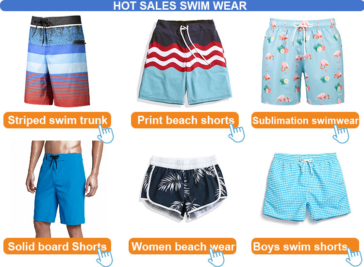 sublimation printing wholesale different flag boardshorts/ beach shorts with 3d