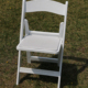 Wholesale wedding party event plastic resin white folding wimbledon chair
