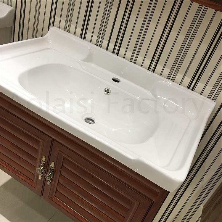 Aluminum Wall Mounted Washbasin Sliding Bathroom Vanity ...