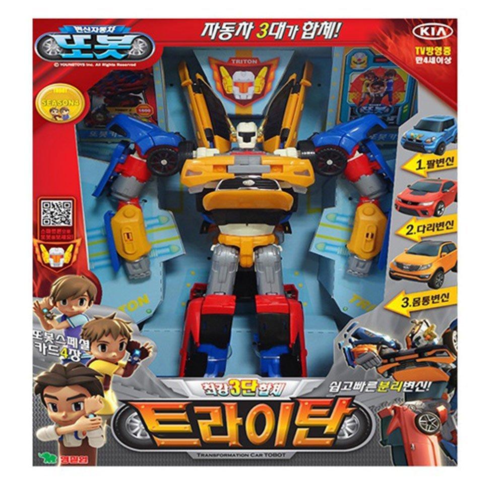 Buy Tobot Tritant 3 Copolymers Toy Transformer Transformation Kid Quatran Children Robot Action Figure Car Vehicle Korea Tv