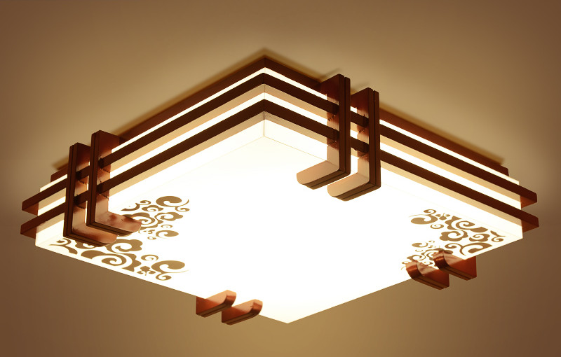 Ceiling Lights Led Asian Tatami Decor
