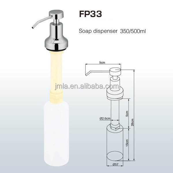 hand foam soap dispenser kitchen,hotel liquid soap dispenser