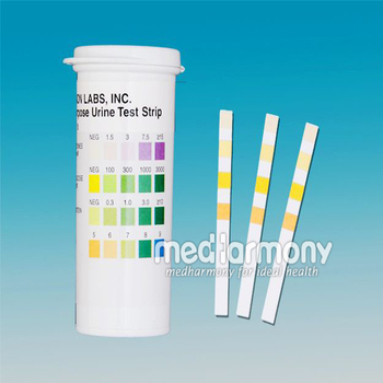 Urinalysis reagent strips for urinalysis tests for glucose for Table 6 simulated urine protein test