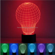 FS-3143 3D illusion lamp and Newest 3D night light for baby night light