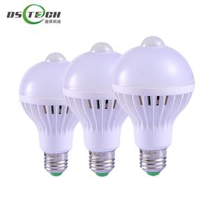Smart E27 220v Bulb Sensor Led Pir 7w Nok0wxp8 Motion With Light 8O0mNnwv