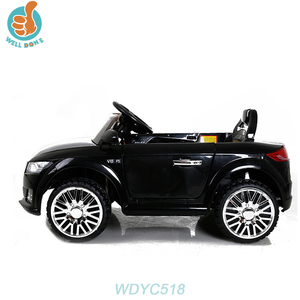 WDYC518 RC New Two Motor Children Electric Car Baby Ride On Car for Nissan Almera Car dvd gps Multimedia Player