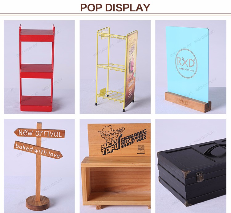 New style hot high quantity wooden gift greeting card postcard display racks