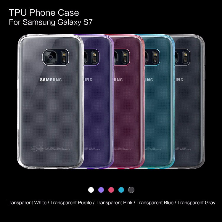Wholesale Price Manufacturer Transparent TPU Phone Case For Samsung Galaxy S7