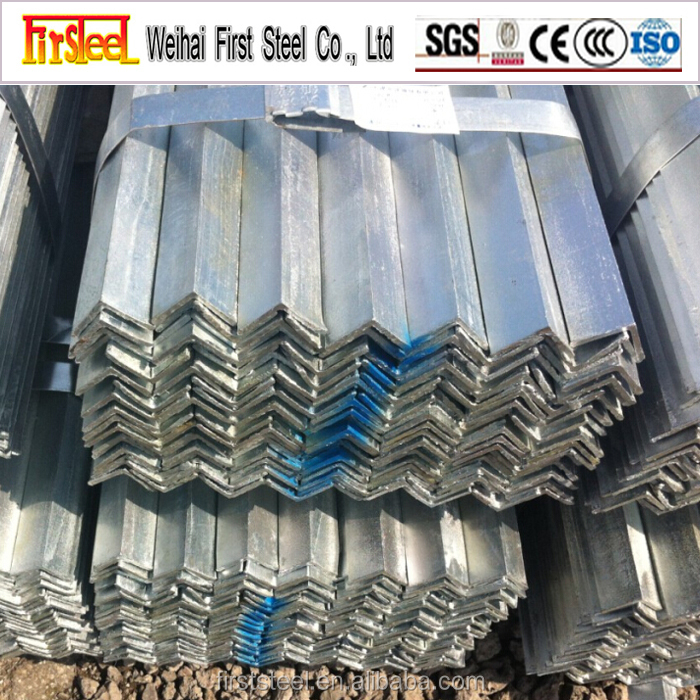 High quality carbon steel gi angle iron weight