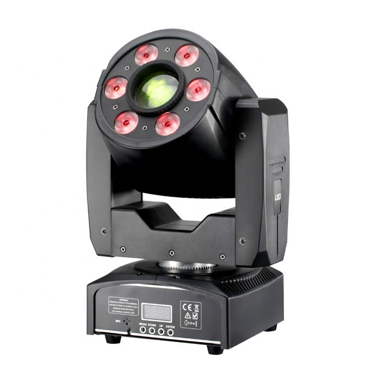 Pro stage lighting dj equipment 30w led 4in1 spot wash 2in1 zoom  mini moving head light