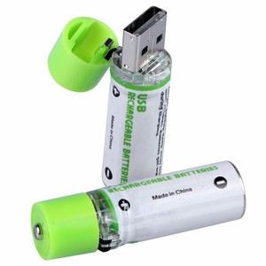 New Product 2019 Rechargeable NI-MH AA 14500mAh 1.2V /1.5V Battery USB Recharge