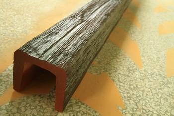 Guangzhou Polyurethane Decorative Faux Wood Beams U Shape