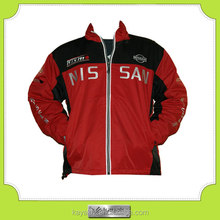 custom made winter sports motorbike jacket for F1 racing team