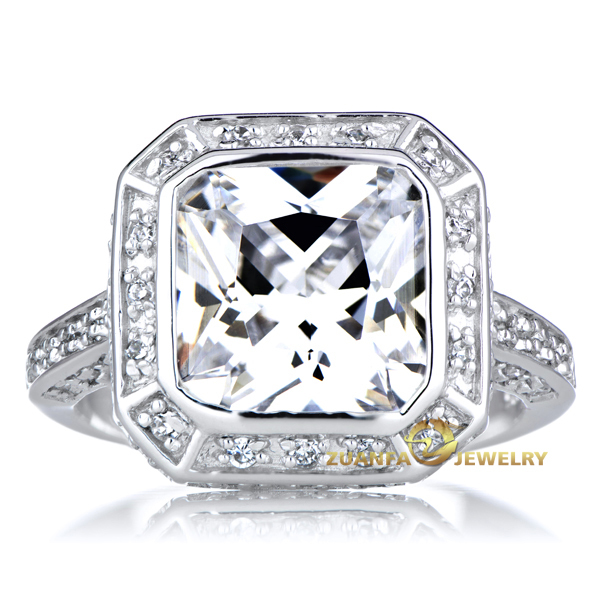 Paypal Accepted 2015 New Style Micro Pave Wedding Diamond Ring ...