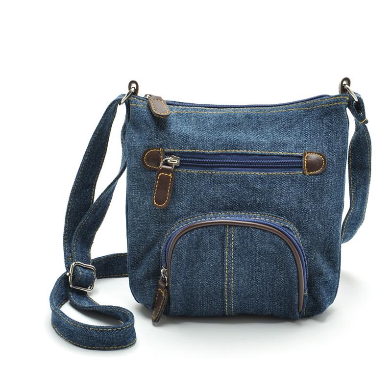 Denim Women Messenger Bags Stylish Five Pointed Star Handbags Bolsas Feminina Bag Handbag Drop Designer Las From Caspink