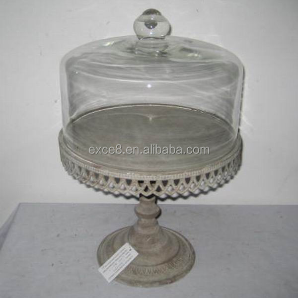 Vintage Glass Dome Cover Metal Cake Stand - Buy Glass Cake Stand DomeClear Glass Cake Stand And DomeCake Stand With Dome Cover Product on Alibaba.com & Vintage Glass Dome Cover Metal Cake Stand - Buy Glass Cake Stand ...