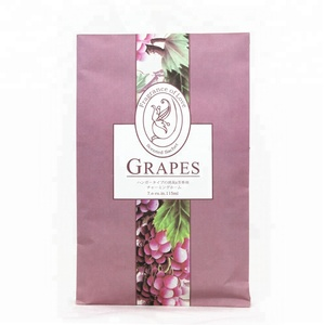 Wardrobe paper scented fragrance sachet aroma beads scented air fresher