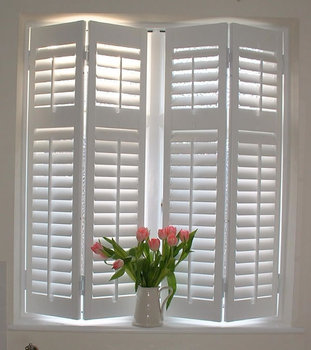 2 5 Quot 3 5 Quot Push Rod 2 Inch Plantation Blinds Buy 2 Inch